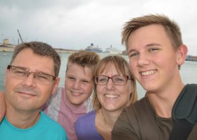 Hanne Lohse Flugt med Familie